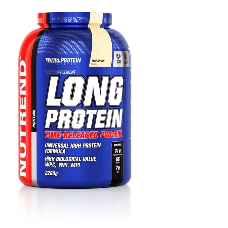 LONG PROTEIN, 1000 g, marcipán