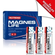 MAGNESLIFE 10x25ml + 3x MAGNESLIFE STRONG 60ml ZDARMA