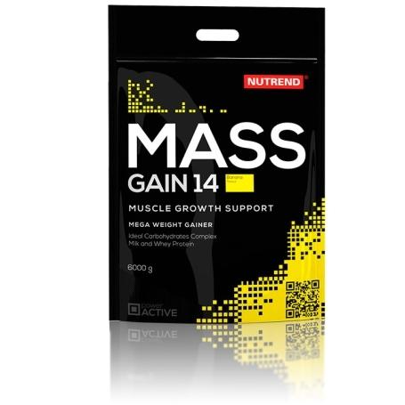 MASS GAIN 14, 6000 g, banán