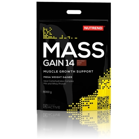 MASS GAIN 14, 6000 g, čokoláda+kakao