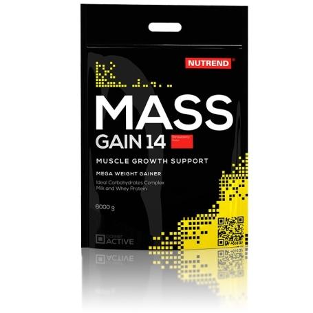 MASS GAIN 14, 6000 g, jahoda