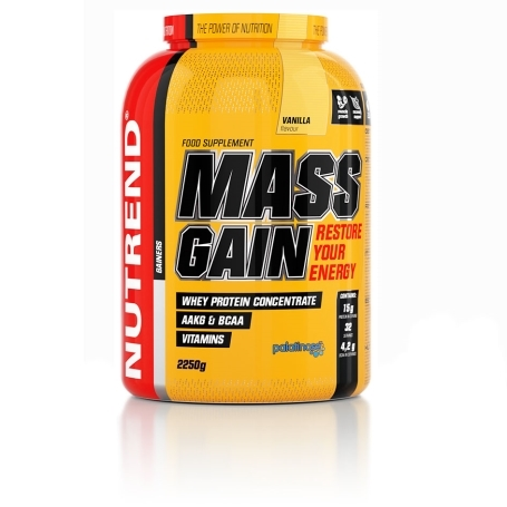 MASS GAIN, 2250 g, biscuit