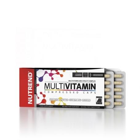 MULTIVITAMIN COMPRESSED CAPS, 60 kapslí,