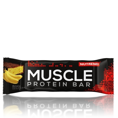 MUSCLE PROTEIN BAR, 55 g, banán