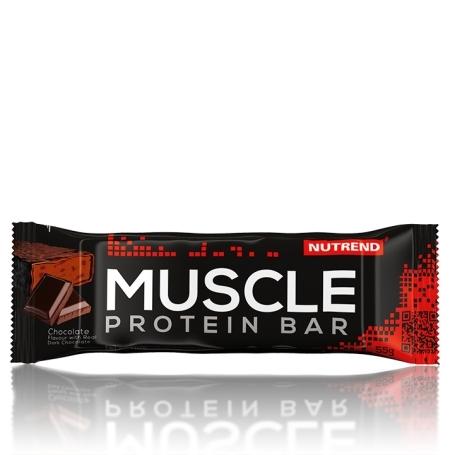 MUSCLE PROTEIN BAR, 55 g, čokoláda