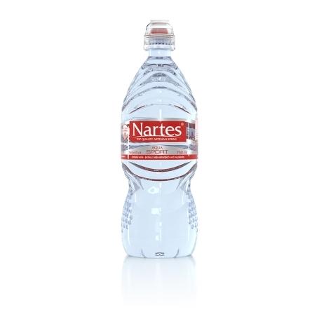 NARTES SPORT pramenitá voda, 750 ml, neperlivá