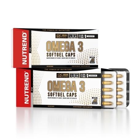OMEGA 3 SOFTGEL CAPS, 120 kapslí,