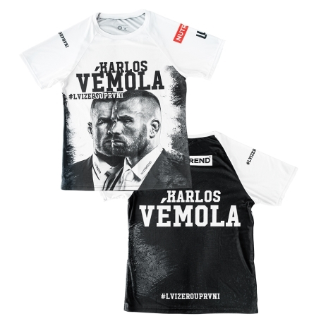 Pánské tričko z limitované edice - Karlos Vémola #LVIZEROUPRVNI