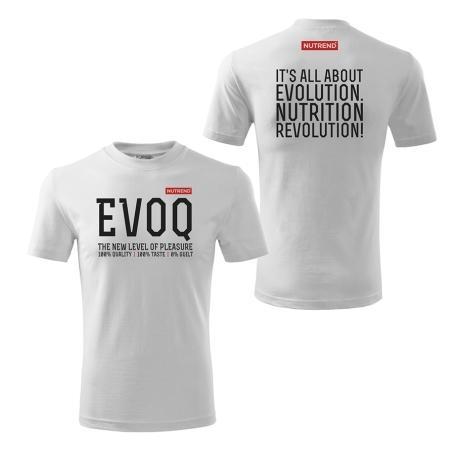 Pánské triko bílé - EVOQ
