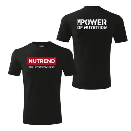 Pánské triko černé - NUTREND