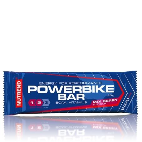 POWER BIKE BAR, 45 g, mix berry