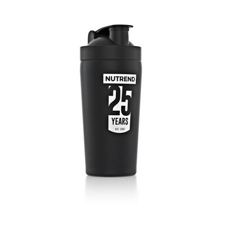 Šejkr NUTREND 25 let, kovový - 780 ml