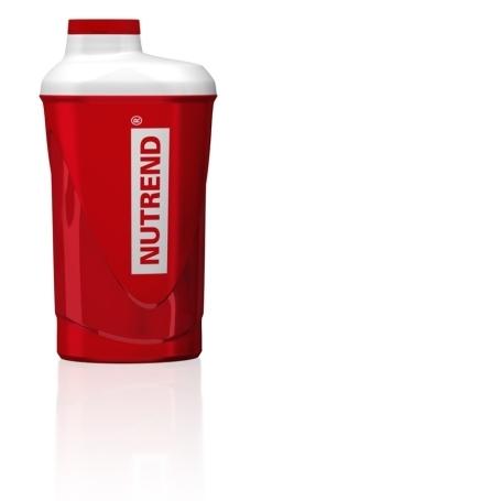ŠEJKR Nutrend - 600 ml - červený
