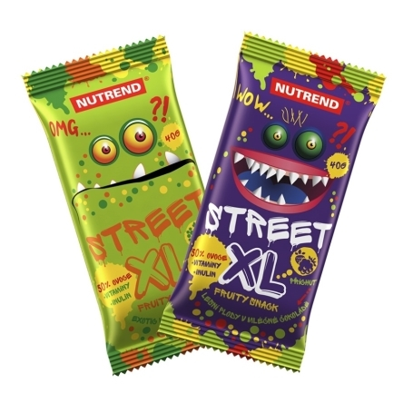 STREET XL FRUITY, 40 g, exotic s čok. polevou