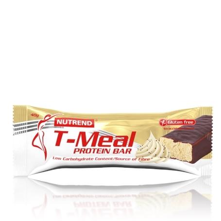 T-MEAL BAR, 40 g, stracciatella