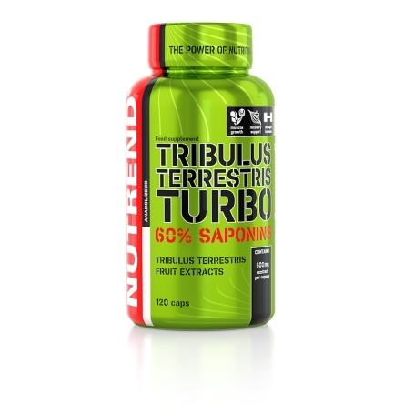 TRIBULUS TERRESTRIS TURBO, 120 kapslí,