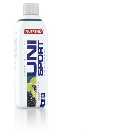UNISPORT, 1000 ml, ostružina + limetka