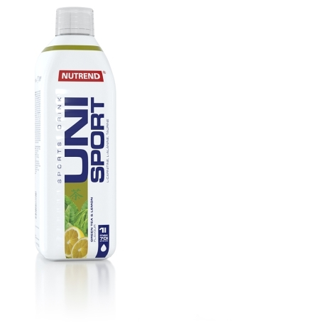 UNISPORT, 1000 ml, zelený čaj+citron