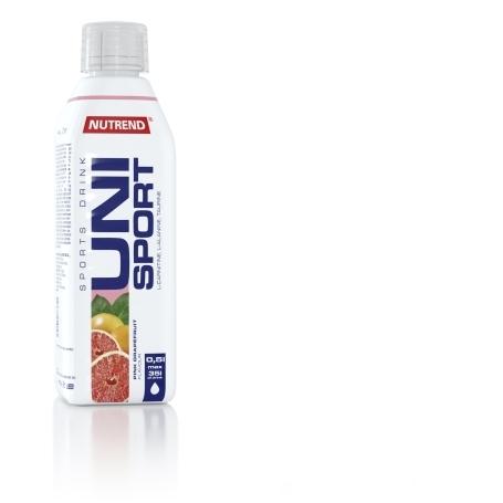 UNISPORT, 500 ml, bílý grep