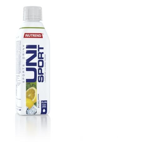 UNISPORT, 500 ml, bitter lemon