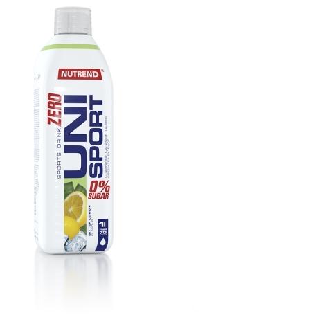 UNISPORT ZERO, 1000 ml, bitter lemon